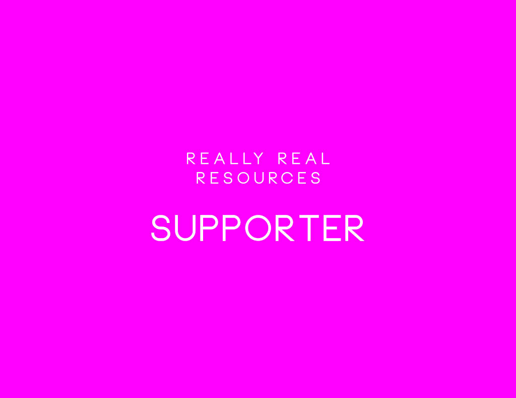 Being a Really Real Supporter