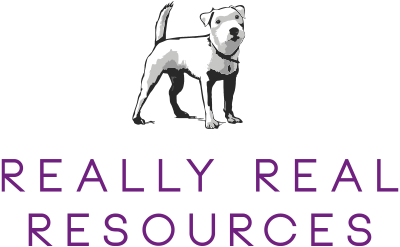Really Real Resources Stock Photography Library disability vulnerable logo