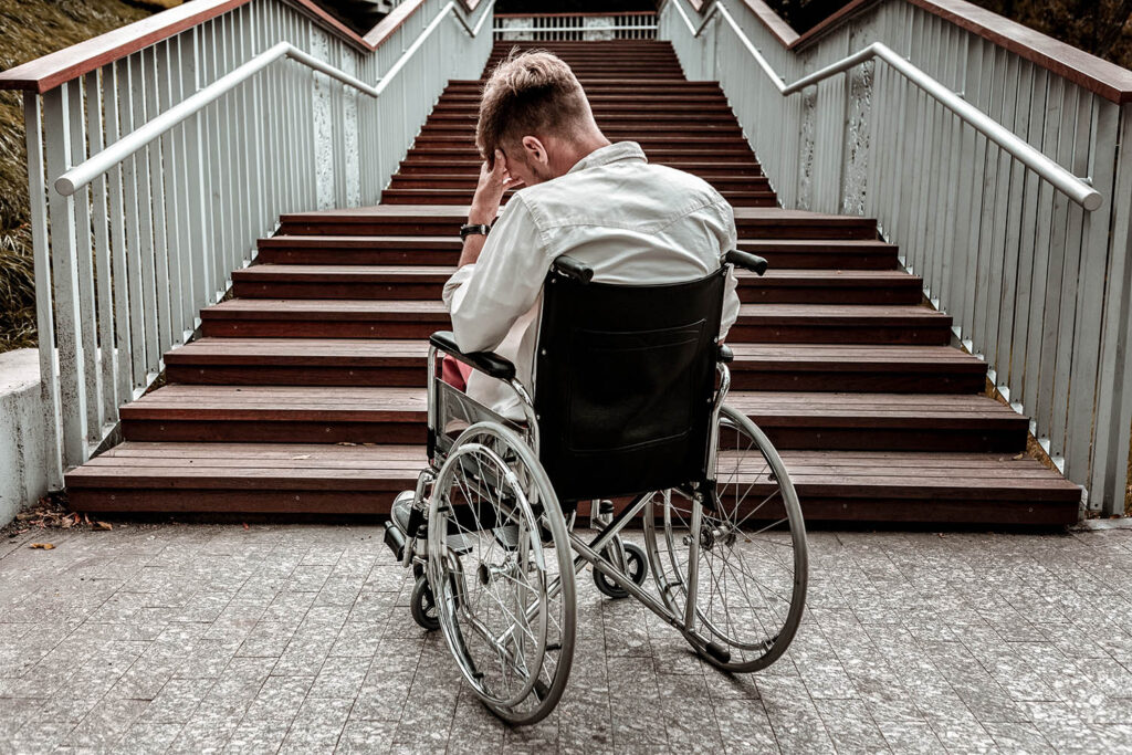 Bloody sick of crap stock photography feature mental and physical disability Shutterstock