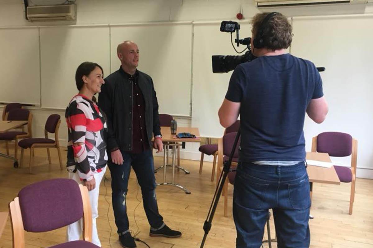 Georgia Jenkins woman motivational speaker in Edinburgh Pathways coordinator at MCR Pathways